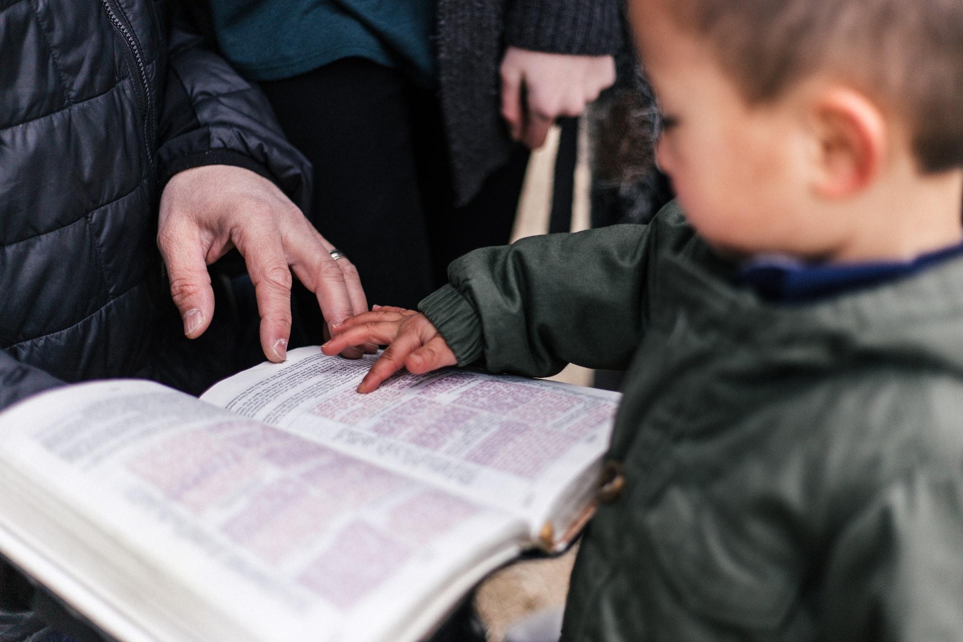 Pojke pekar i Bibel